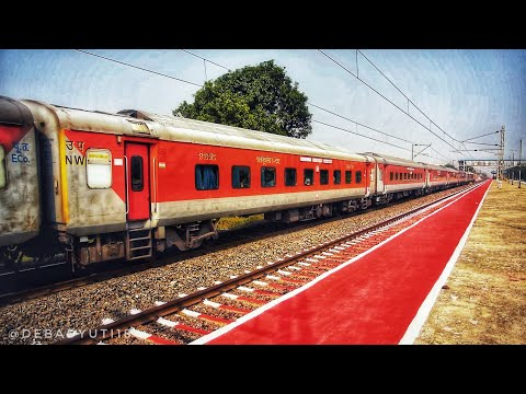 22823 Bhubaneswar-New Delhi Rajdhani Express started to Accelerate after BBS
