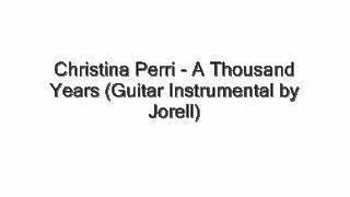 Christina Perri - A Thousand Years (Guitar Instrumental) With MP3 Included