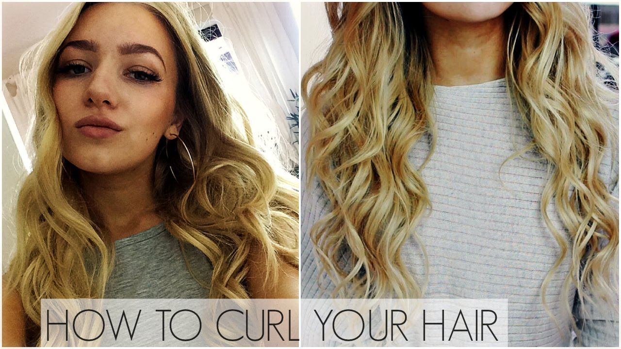How To Curl Your Hair In Depth Tutorial Curling Wand Youtube