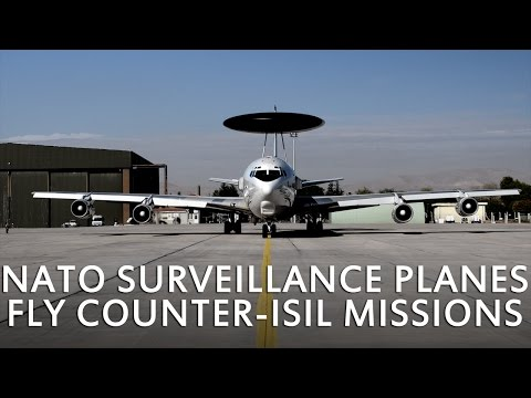 NATO surveillance planes fly counter-ISIL missions