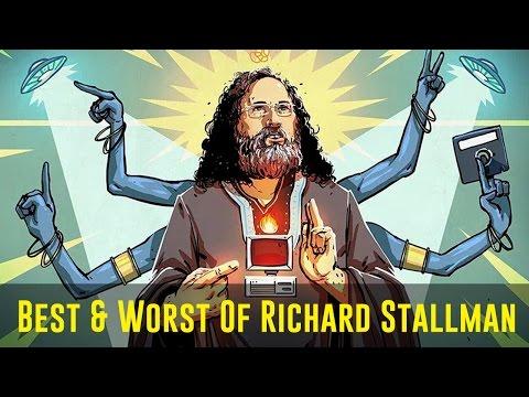 The Best & Worst of Richard Stallman [Remix]