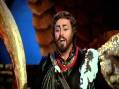 Extracto Turandot /  NESSUN DORMA / Luciano Pavarotti & Leona Mitchell