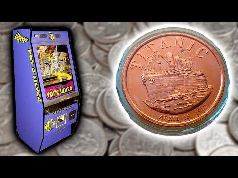 I WON A TITANIC GOLD COIN!!