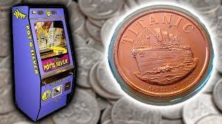 COIN PUSHER - WON A COLLECTIBLE COIN!