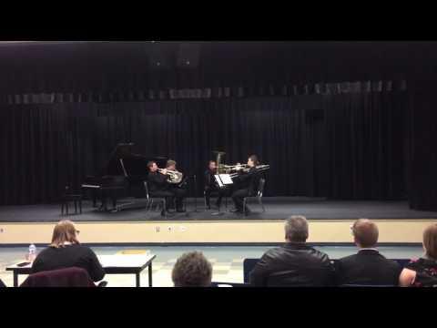 Pullman High School Brass Quintet 02-04-2017
