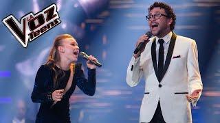 Andrés Cepeda y Nikki cantan 'No te vayas todavía' | Final | La Voz Teens Colombia 2016
