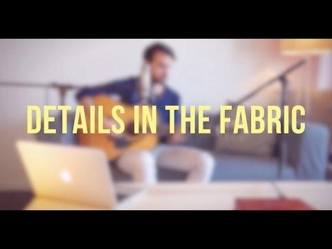 Details in the fabric (Jason Mraz)