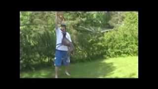 whippet jump over 6 feet tall man