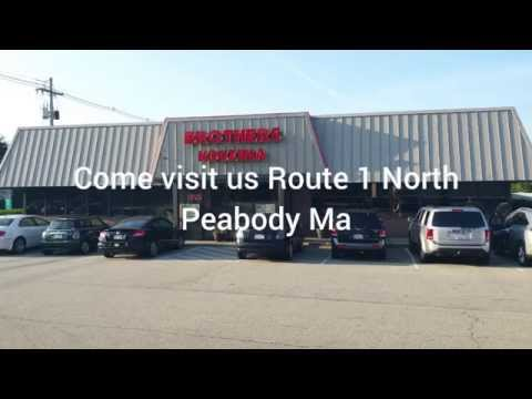 Brothers Kouzina Best restaurant Peabody ma Route 1 North