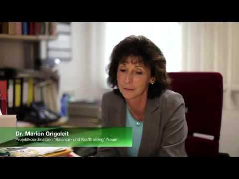 Berliner Moderatorin Carmen Franke im AOK Gesundheitsmagazin April 2014