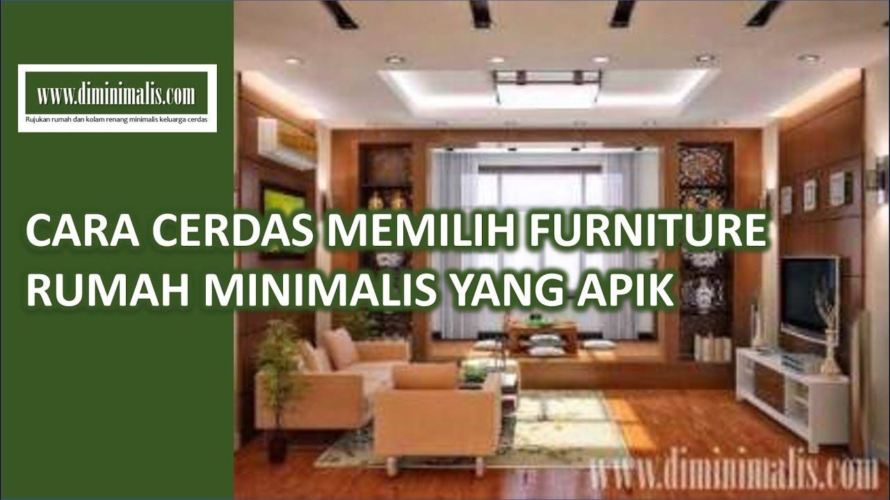 Diminimalis Cara Cerdas Memilih Furniture Rumah