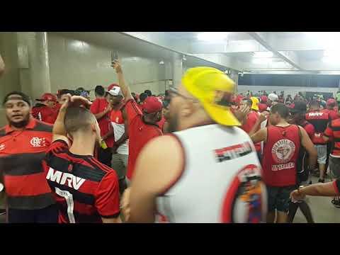 Torcida Raça Rubro Negra Flamengo 1x0 Corinthians Brasileiro 2018 Maracanã