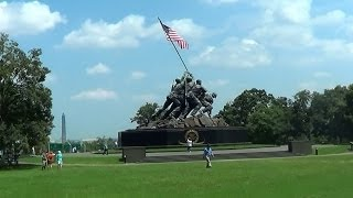 US Marine Corps War Memorial in Arlington [VA   7/20/2013]