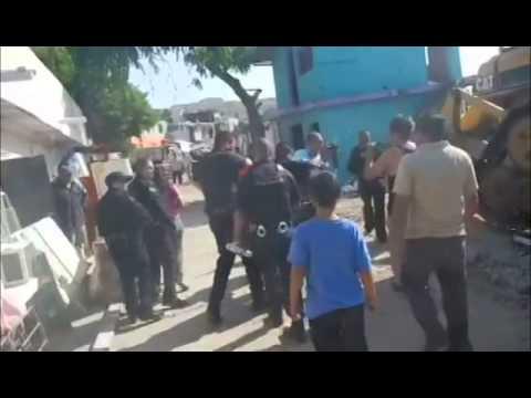 Policía municipal de Tijuana agrede a periodista