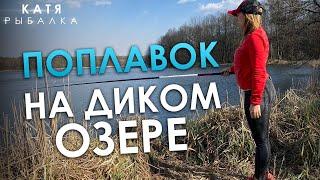 РЫБАЛКА НА ПОПЛАВОК на диком озере Исследую новое место для рыбалки