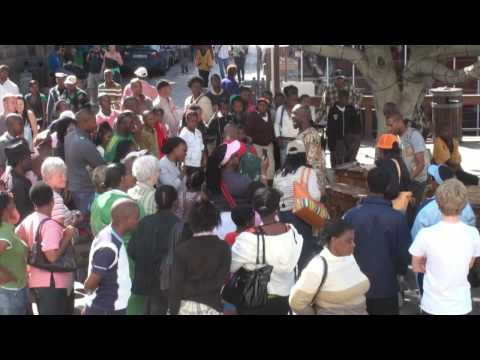 Cape Town Waterfront / African Dream Sings Live