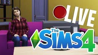 Karolina Psikus ma sklerozę i zapomina, jak się gra w Simsy - The Sims 4 LIVE