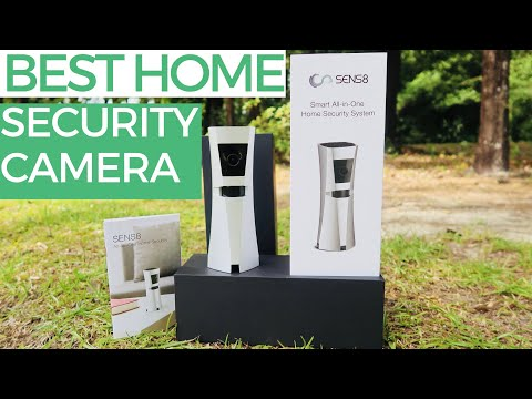 SENS8 Smart Home Security Camera System - A Real REVIEW, TUTORIAL, and UNBOXING
