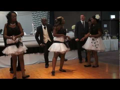 Zambian Exclusive Wedding Entrance Dance Part 3
