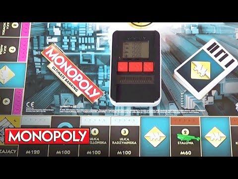 Gry Hasbro Polska - Jak grać w Monopoly Ultra Banking