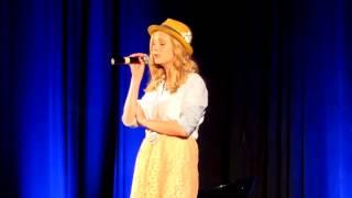 Candice Accola singing