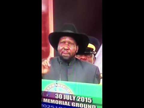 Salva Kiir: Oil in Uninty and Upper Nile States belongs to Dinka