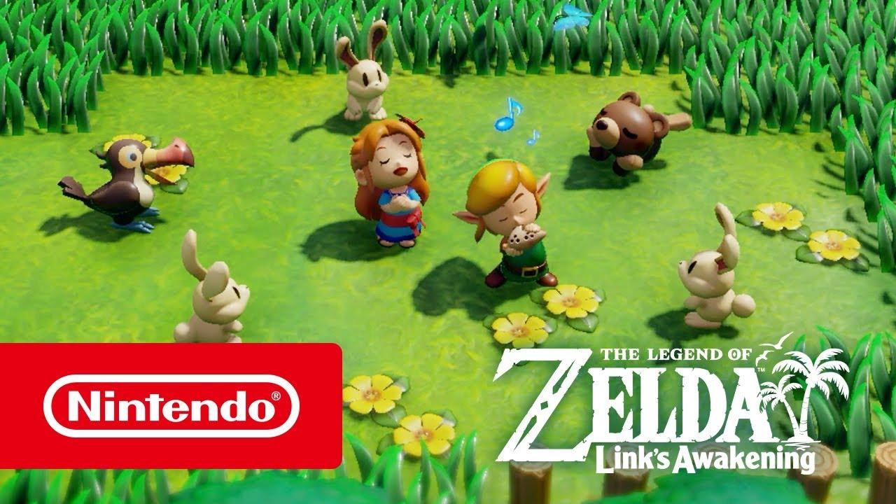 The Legend of Zelda: Link's Awakening – Übersichtstrailer (Nintendo Switch) thumbnail