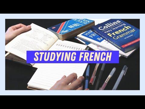 Study French with me | Étudier le français avec moi