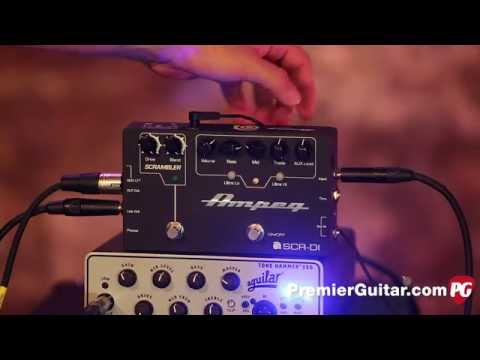 Review Demo - Ampeg SCR‑DI Direct Box with Scrambler Overdrive