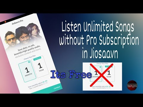 How To Use Jiosaavn In Free Without Pro Subscription