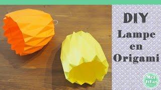 DIY - Lampe Origami - Suspension Origami - Tutoriel