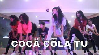 COCA COLA TU TONY KAKKAR SHREEKANT AHIRE BAPPA EXCEL DANCE  CLASS BASIC CHOREOGRAPHY