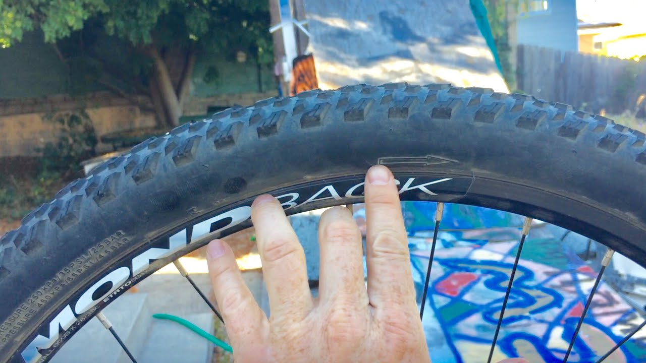 f44c12fefc0 Which Direction To Install Mountain Bike Tires - YouTube