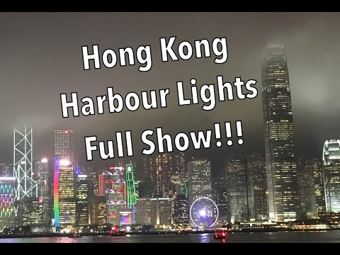 A Symphony of Lights | Hong Kong Harbour | Full Show