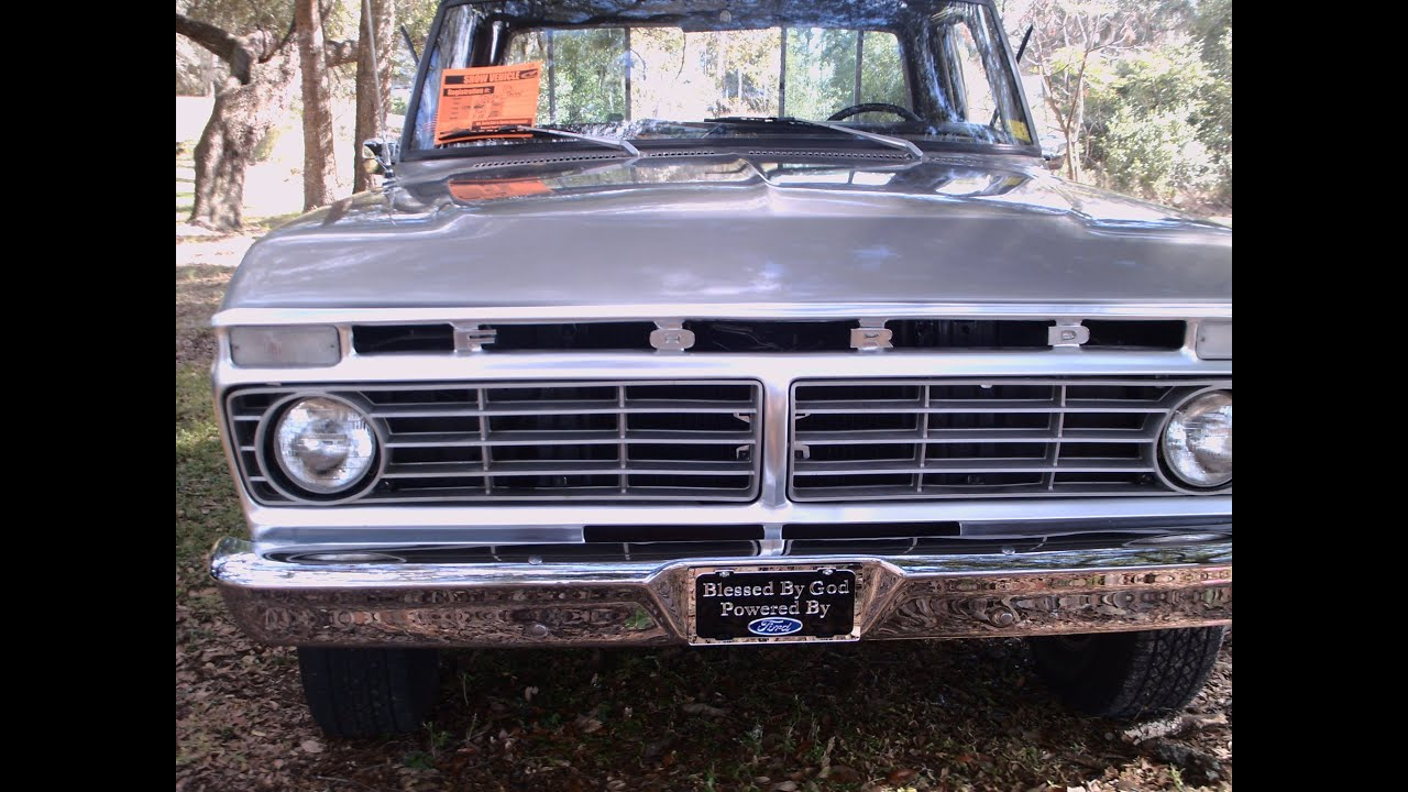 autoliterate: 1974 Ford F100 Ranger XLT, part 2  |1974 Ford F100