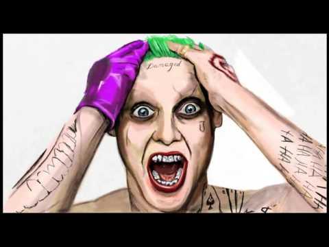 The Joker Time Lapse Drawing by David Pustansky Art Academy Wii U