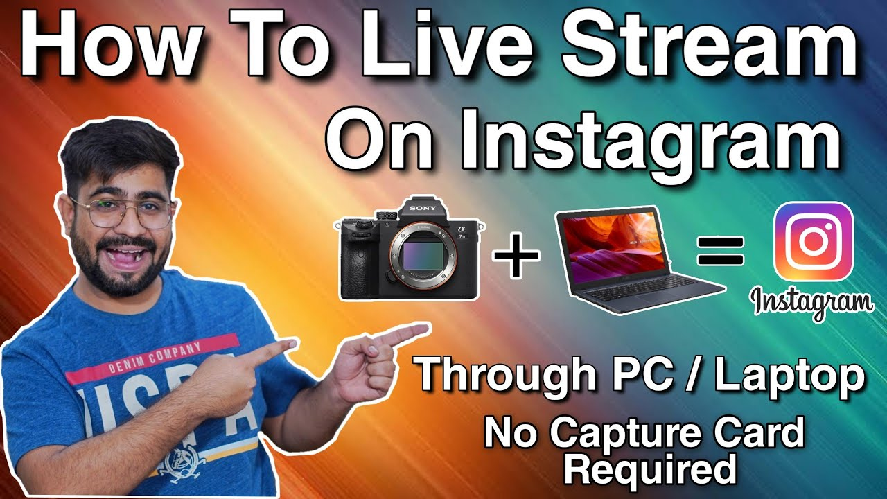 Instagram Livestream Pc