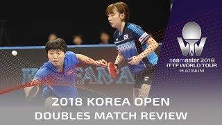 Video Women's Doubles Match Review | 2018 Shinhan Korea Open download MP3, 3GP, MP4, WEBM, AVI, FLV Juli 2018