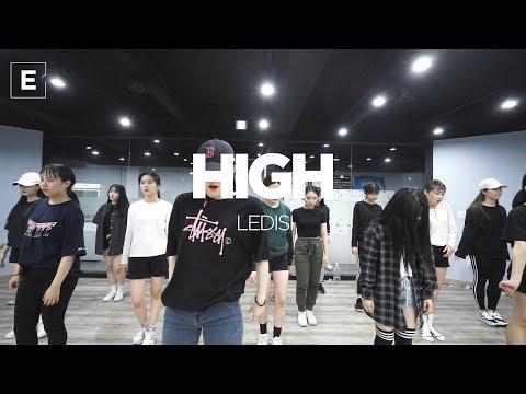 YELLZ | GIRLISH CLASS | LEDISI - HIGH | E DANCE STUDIO | 이댄스학원 | 걸리쉬안무