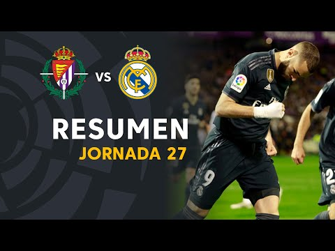 Resumen de Real Valladolid vs Real Madrid (1-4)
