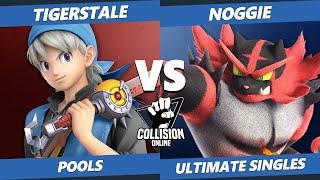 Collision Online Ultimate Pools - BM Noggie (Incineroar) Vs. TigersTale (Wolf, Hero) SSBU Singles