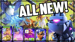 ALL NEW! Clash of Clans Town Hall 14 UPDATE - HERO PETS!