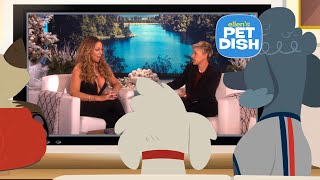 Ellen's Pet Dish with Mariah Carey