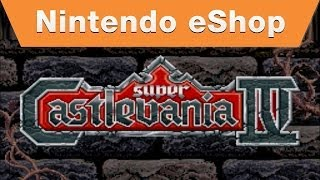 Wii U - Super Castlevania IV on the Nintendo eShop