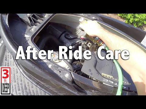 How To Perform After Ride Jet Ski Care (on a 2012 4-TEC Sea-Doo GTR 215)