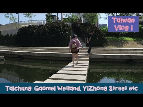 Taiwan Vlog 1: Gaomei Wetland, Yi Zhong Street , I'm Talato, Painted Animation Lane