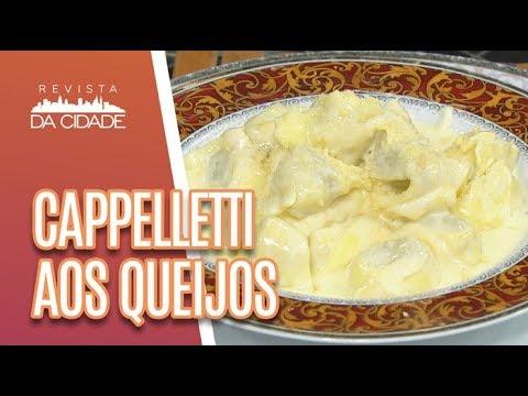 Receita De Cappelletti Aos Queijos - Revista Da Cidade (07/05/18)