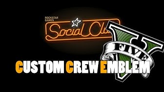 Crew-Embleme ändern Gta5 (GERMAN) 2020