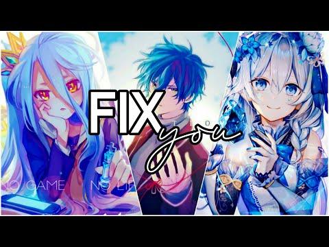 「fix-you」nightcore
