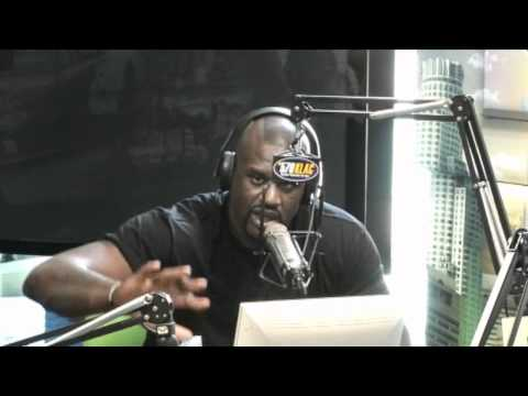 Shaquille O'Neal & Aries Spears in-studio with Petros & Money